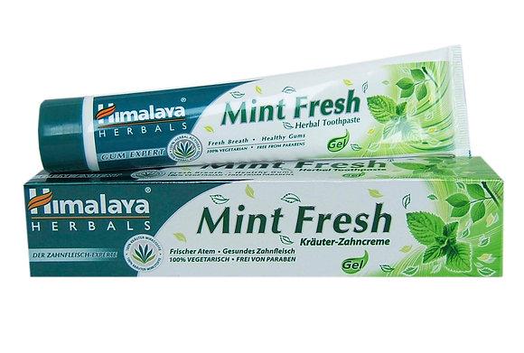 Mint Fresh herbal toothpaste / Kräuterzahncr. 75ml (EK/Stück:1.76, UVP: 3.49)