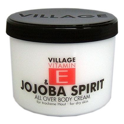 Vitamin E Body Cream 500ml Jojoba Spirit (EK/Stück: 3.27, UVP: 6.49)