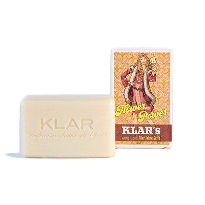Klar's Retroseife Flower Power 100g (EK/Stück: 2.38, UVP: 4.99)