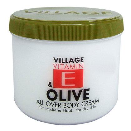 Vitamin E Body Cream 500ml Olive (EK/Stück: 3.27, UVP: 6.49)