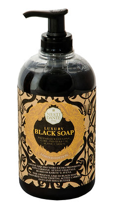 Luxury Black mit Aktivkohle Liquid Soap 500ml (EK/Stück: 6.03, UVP: 11.95)
