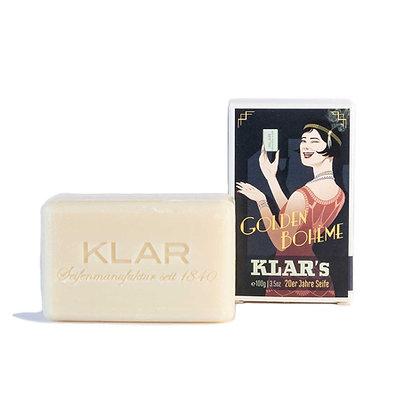 Klar's Retroseife Golden Bohème 100g (EK/Stück: 2.38, UVP: 4.99)