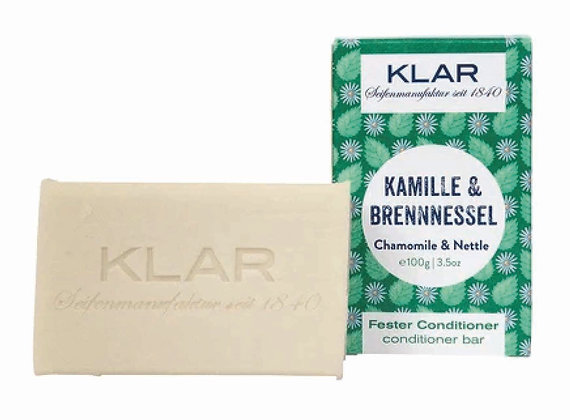 Klar´s fester Conditioner, Brenessel -  100g (EK/Stück:4.76, UVP: 9.99)