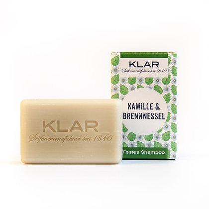 Klar's festes Shampoo Kamille & Brennnessel 100g (EK/Stück: 4.76, UVP: 9.99)