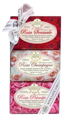 Gift Set Le Rose 3x150g (EK/Stück: 6.05, UVP: 11.99)