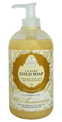 Luxury Gold leaf Liquid Soap 500ml (EK/Stück: 6.03, UVP: 11.95)