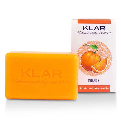 Klar's Orangenseife  100g (EK/Stück: 2.38, UVP: 4.99)