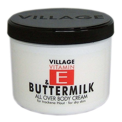 Vitamin E Body Cream 500ml Buttermilk (EK/Stück: 3.27, UVP: 6.49)