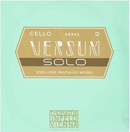 Versum Solo チェロ弦 レビュー ヴェルサム バーサム ソロ