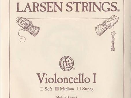 チェロの弦④ラーセンとラーセンソリスト