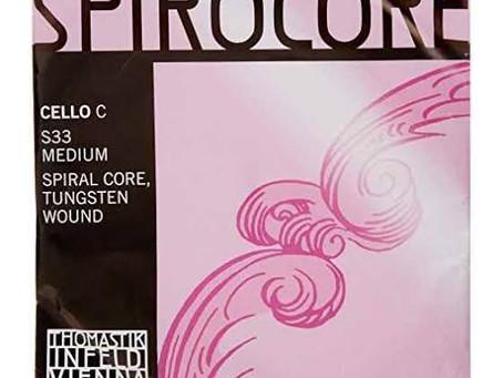 チェロの弦②スピロコア