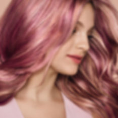 pink hair - aveda colour. Unique to You.