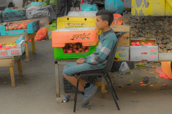 Nabi Saleh Street Vendor