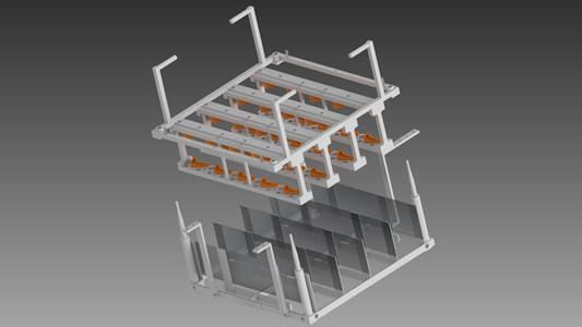 Airfoil Part Plating Fixture
