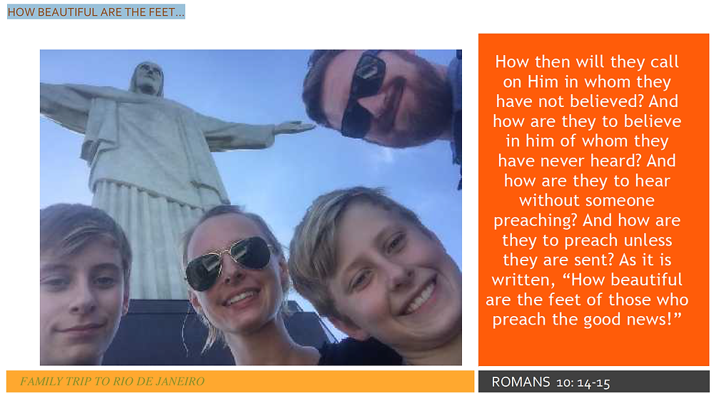 FAMILY TRIP TO RIO DE JANEIRO