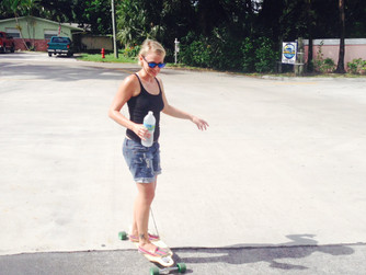 Delight yourself in the Lord, Longboarding Missionaries