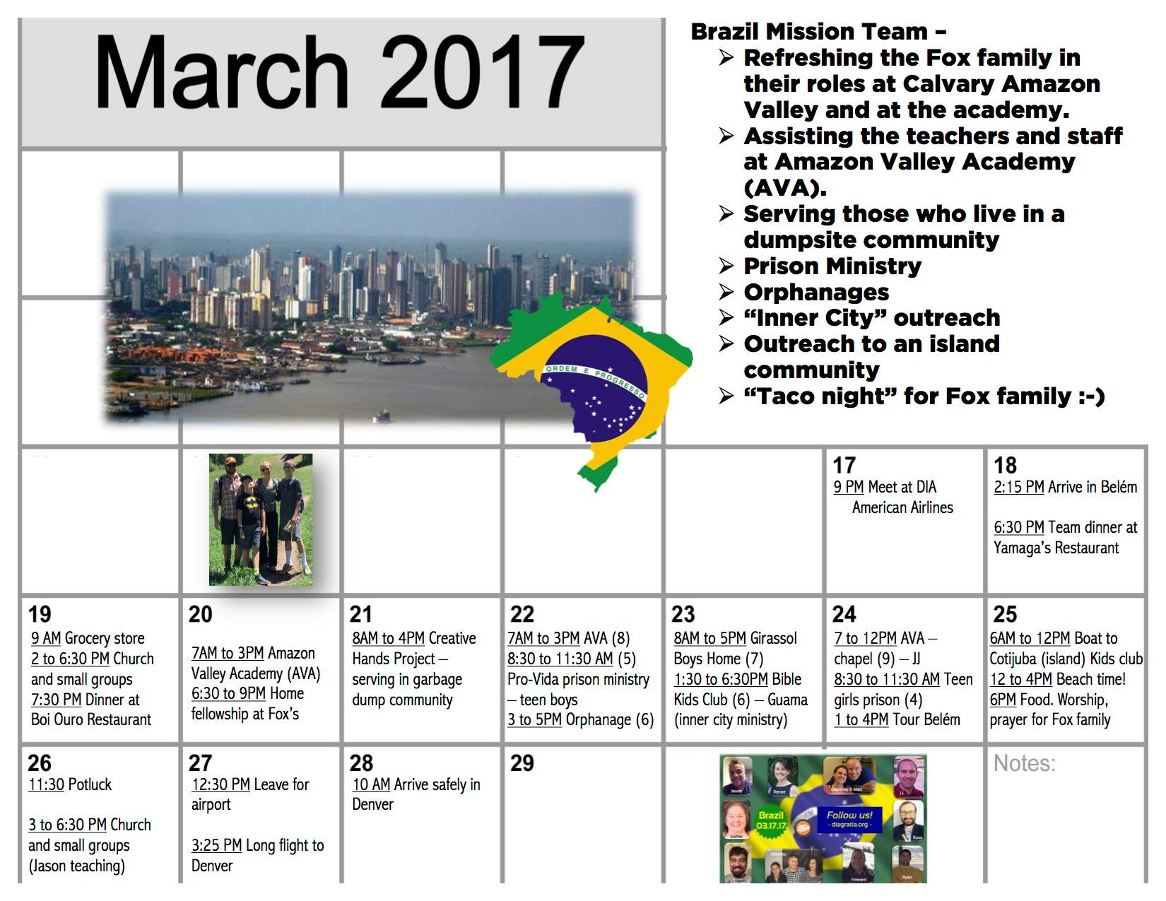 CCA mission schedule