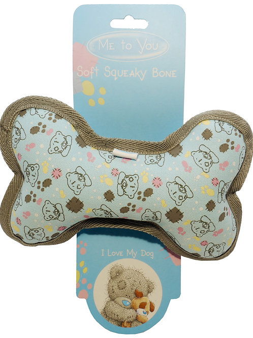 Soft Squeaky Bone - Great Puppy and Kitten Toy