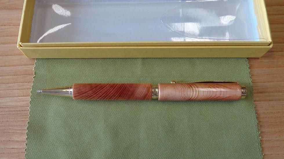 名古屋城天守閣最大梁ボールペン 艶出し