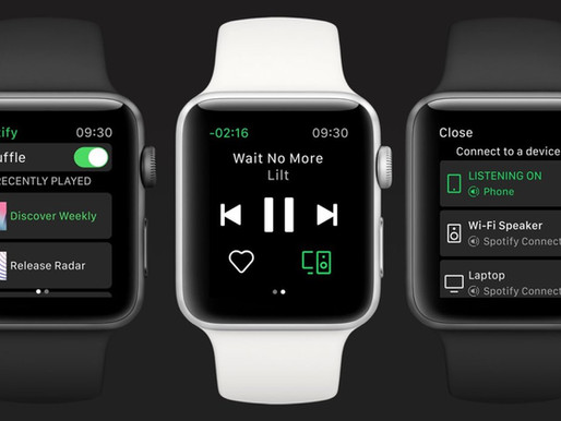 Finally, You Can Stream Spotify Directly From Your Apple Watch