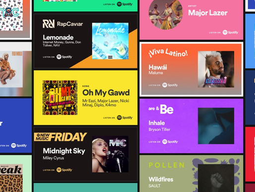 Introducing Spotify Promo Cards