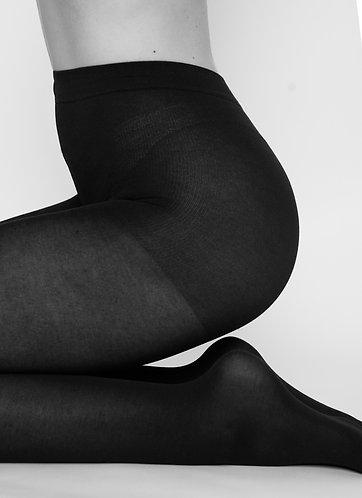 Stina Bio Cotton Thigts black