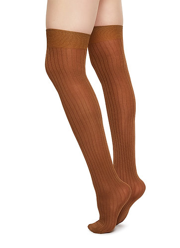 Ella Rip Over-Knee, camel