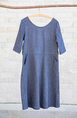 Kleid V jeans
