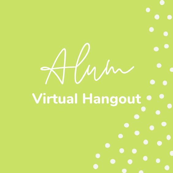 Alum Virtual Hangout