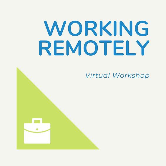 Working Remotely Workshop
