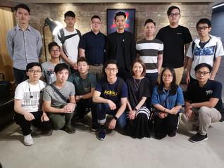 「青年創業創新培育計劃」之「初鳥成長篇」的學員參訪1220影視綜合服務平台