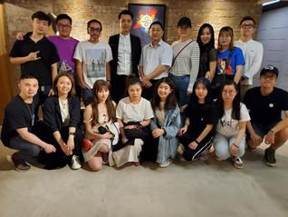 澳門城市大學人文社會科學學院文化產業管理業研究生參訪1220影視綜合服務平台