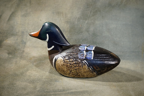 Small Wood Duck Decoy