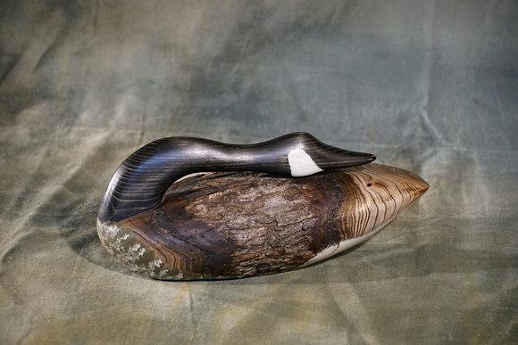 Medium Sleeping Canada Goose Decoy