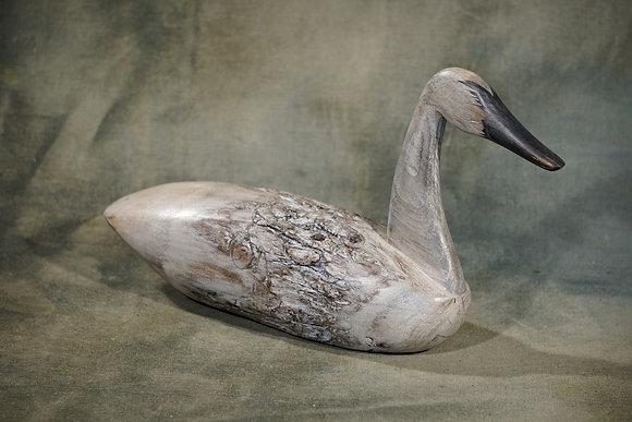 Straight Neck Swan Decoy