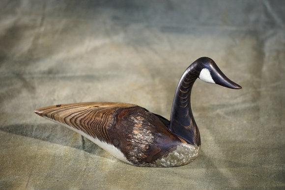 Small Straight Neck Canada Goose Decoy