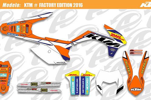 KTM Factory Edition 2016 *réplica