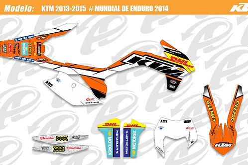 KTM Mundial de enduro 2014