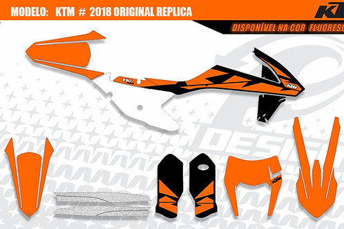 KTM 2018 Modelo: 2018 EXC original