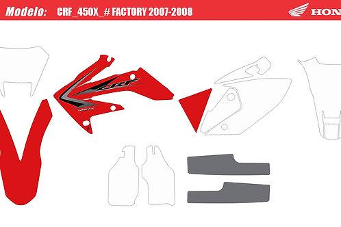 CRF 250x-09  450x-08 replica original