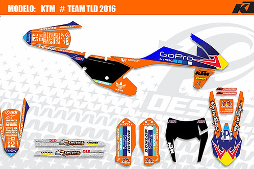 KTM Team TLD 2016