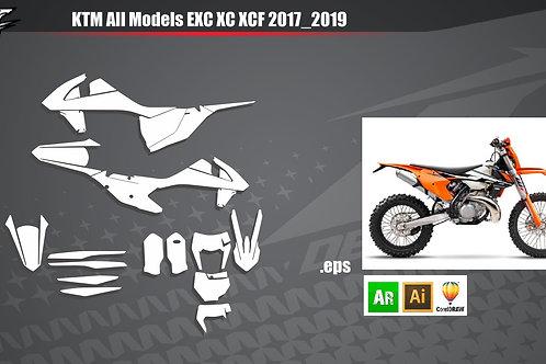 KTM All Models EXC XC XCF 2017_2019