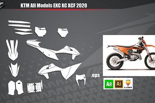 KTM All Models EXC XC XCF 2020