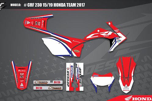 Crf 230 Honda Team 2017