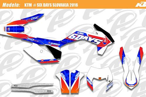 KTM EXC series Six Days Slovakia 2016