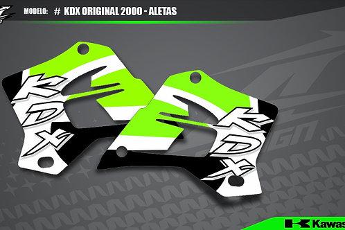 KDX Réplica Original 2000 - Aletas