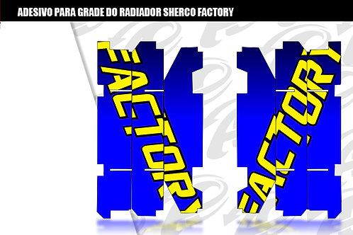 Adesivo para grade do radiador Sherco