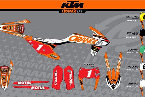 KTM Modelo: Equipe Orange BH 2017