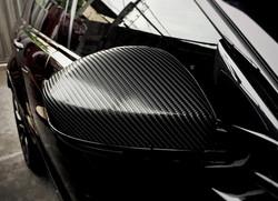 retrovisor fibra de carbono 4d