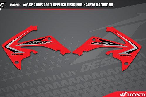 CRF 250r 2010 replica original - aleta radiador
